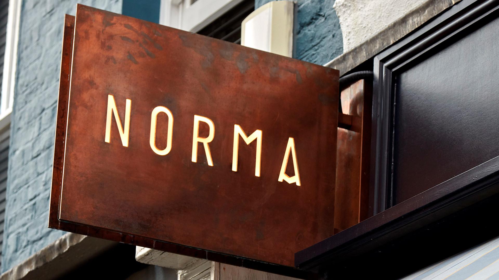Interiors at Norma