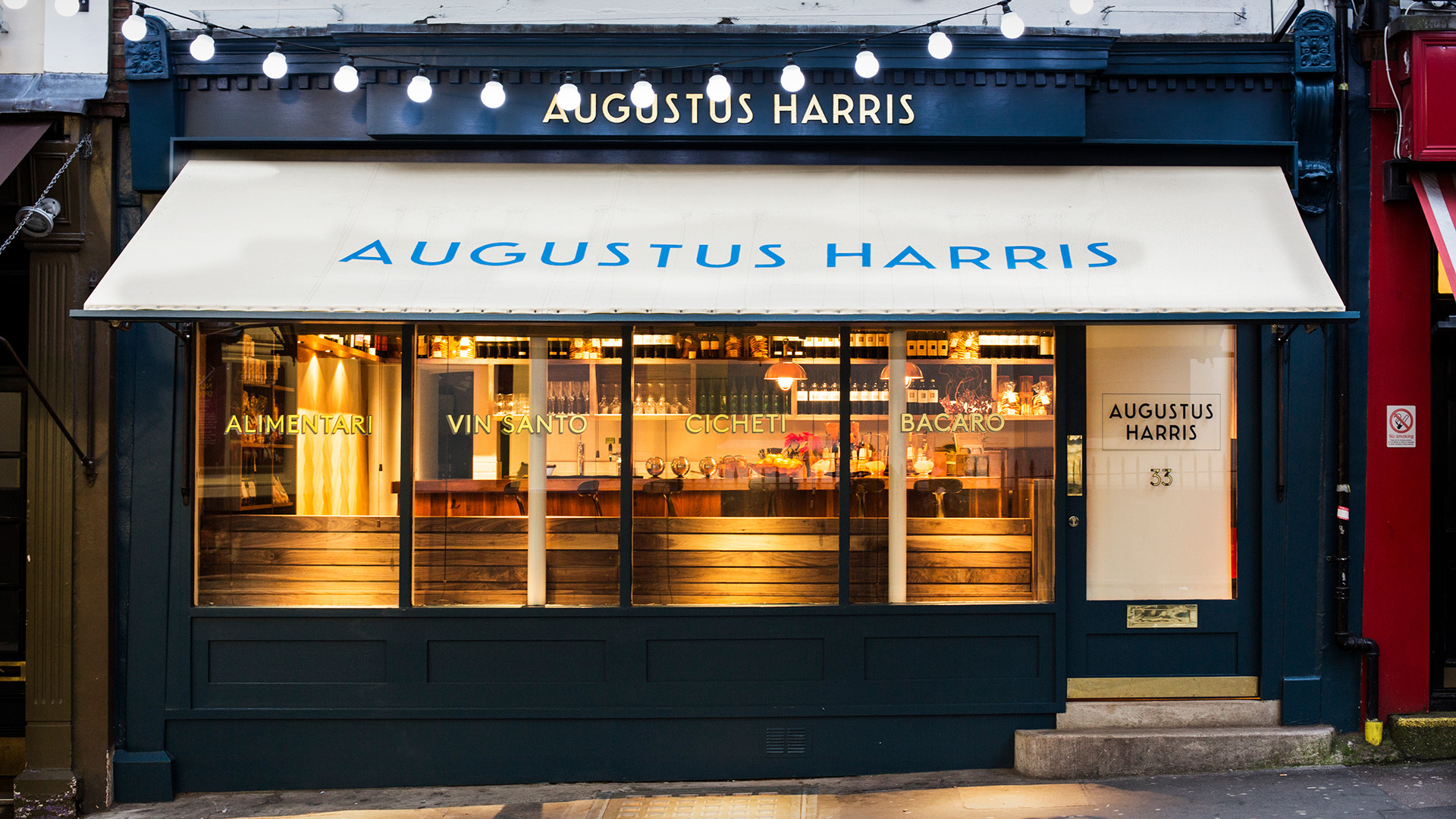 London's best aperitivo bars – Augustus Harris