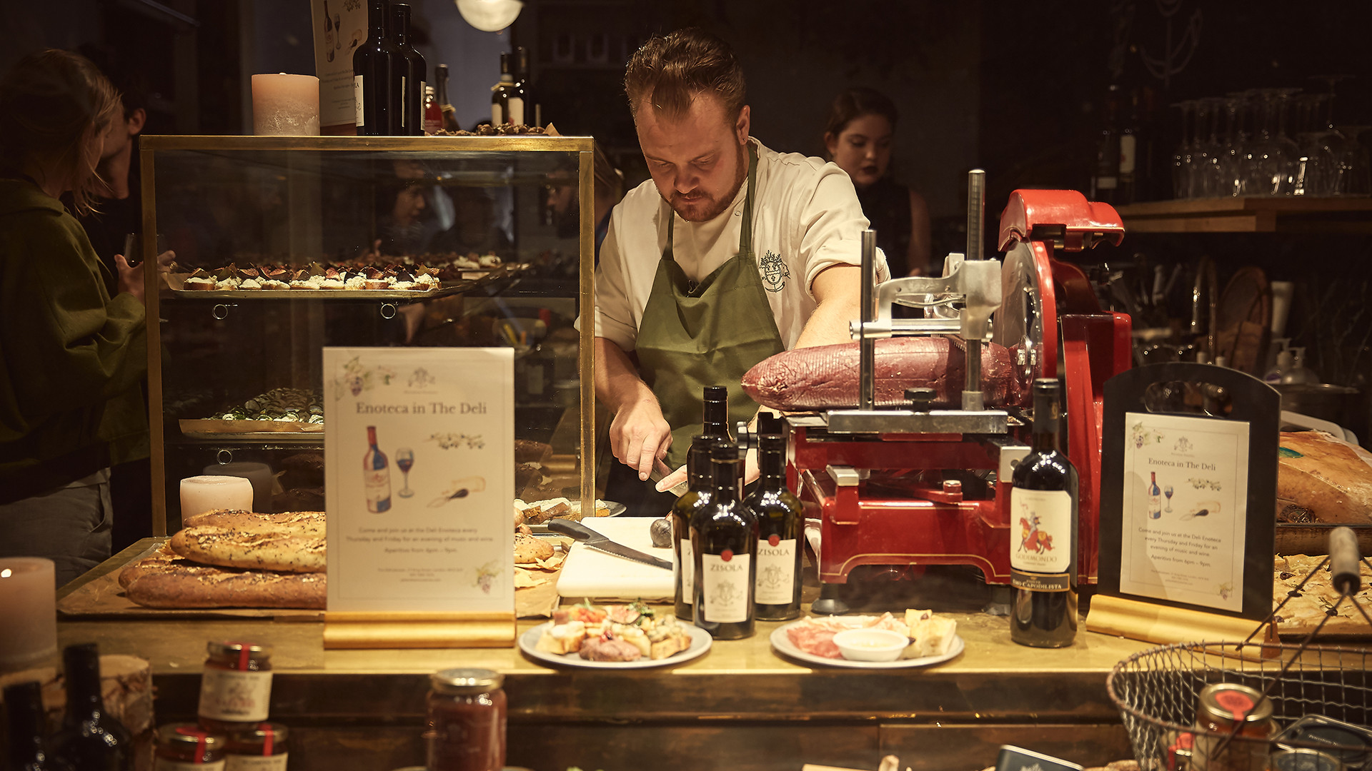 London's best aperitivo bars – Enoteca at The Delicatessen
