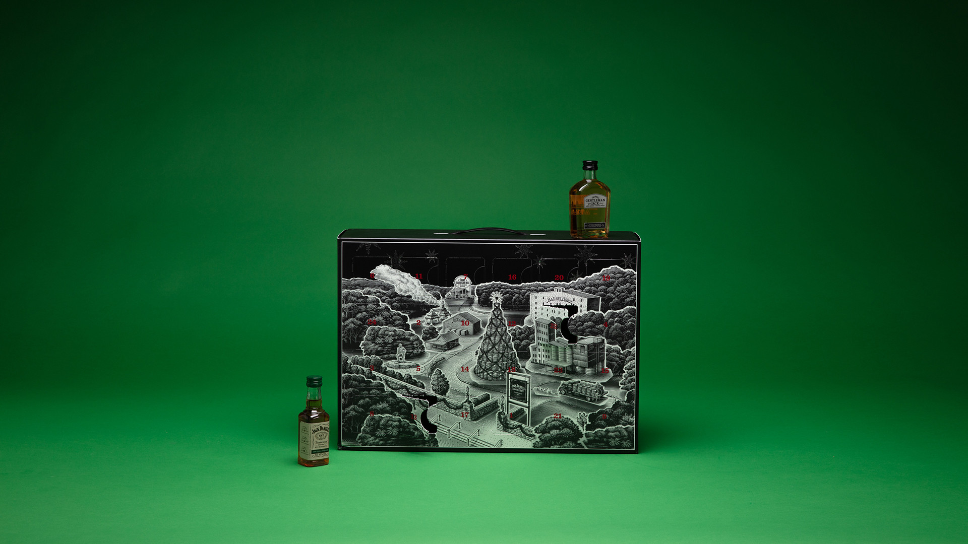 Jack Daniel's Whiskey advent calendar, £59.90