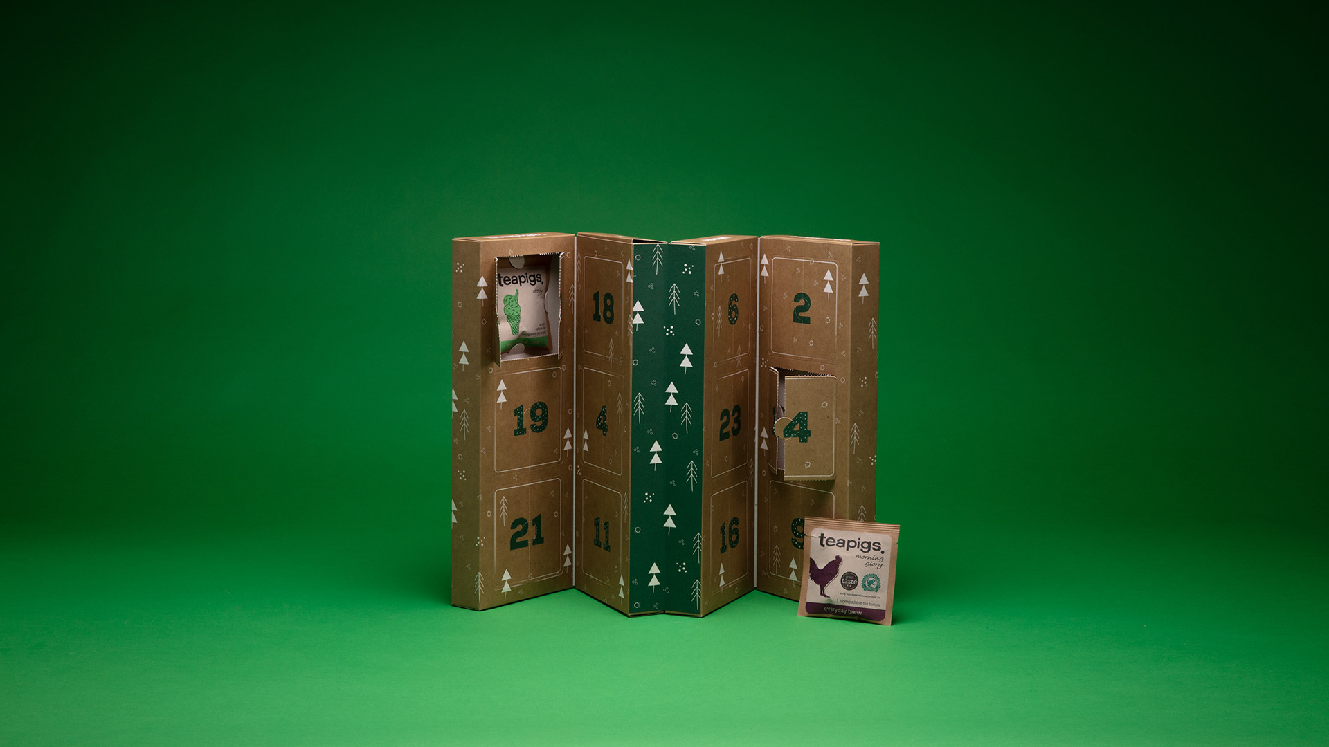 teapigs Christmas advent calendar, £29.99