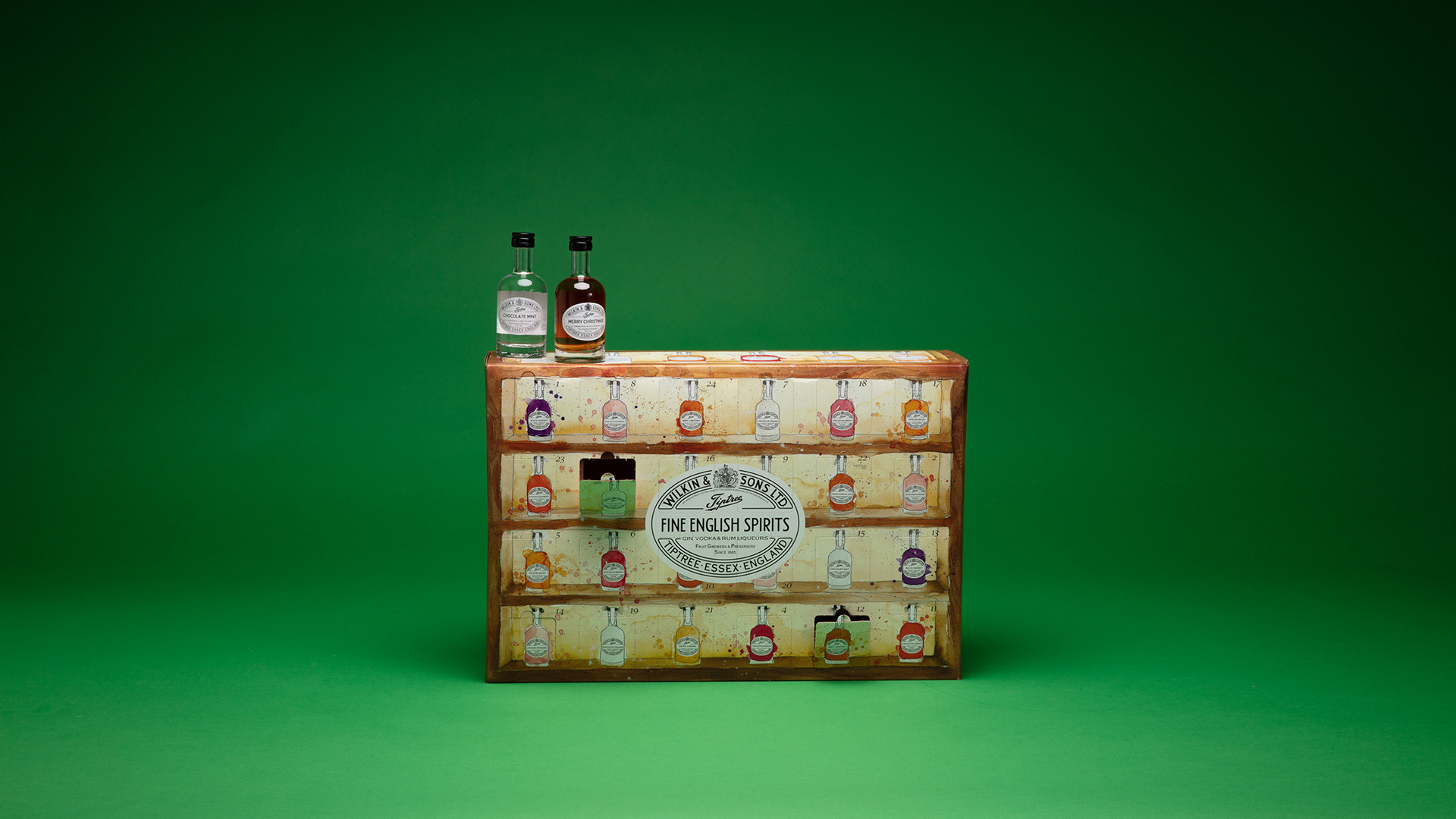 Tiptree Fine English Spirits advent calendar, £100