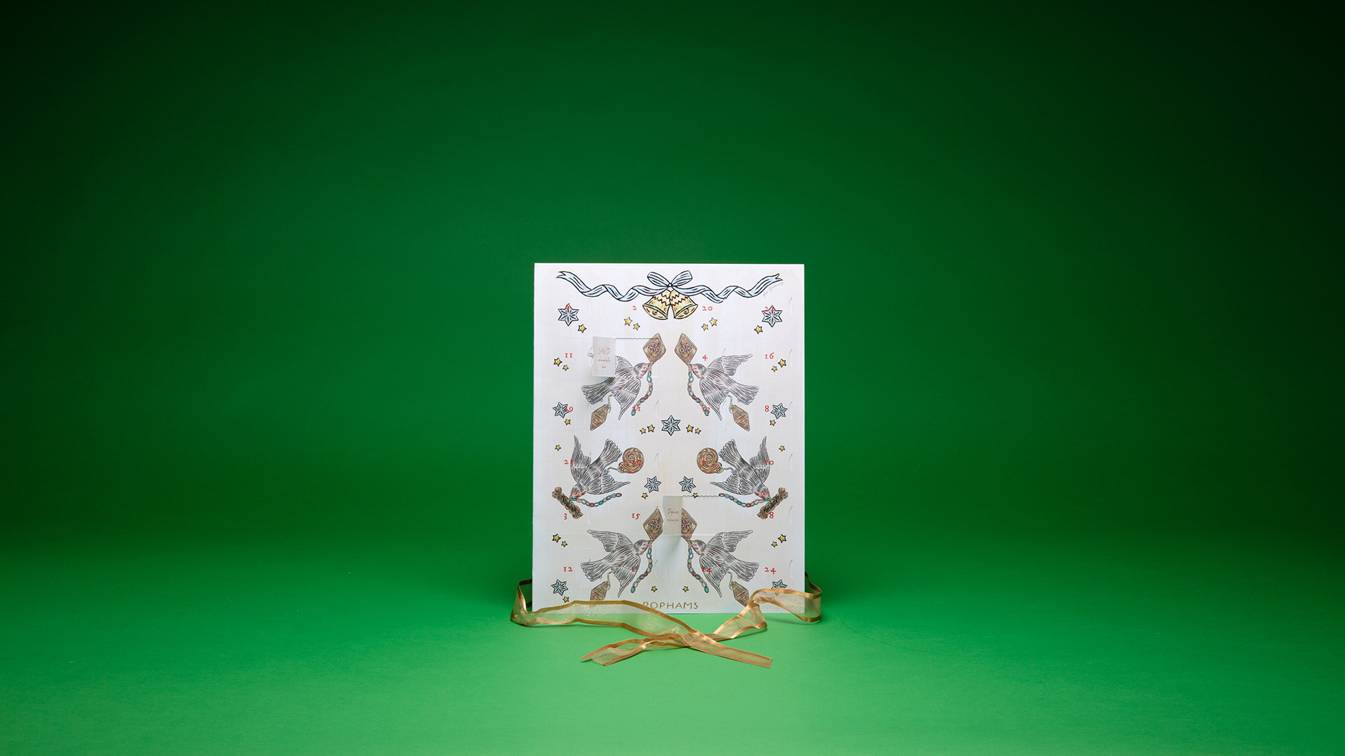 Pophams advent calendar, £30