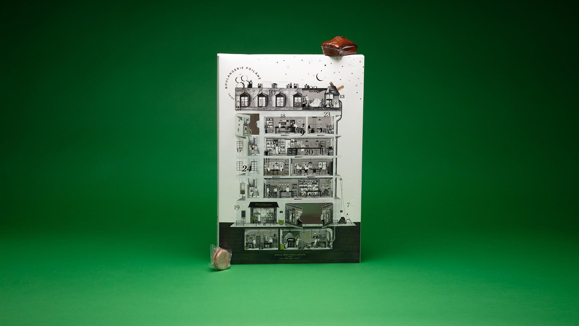 Poilâne advent calendar, £32