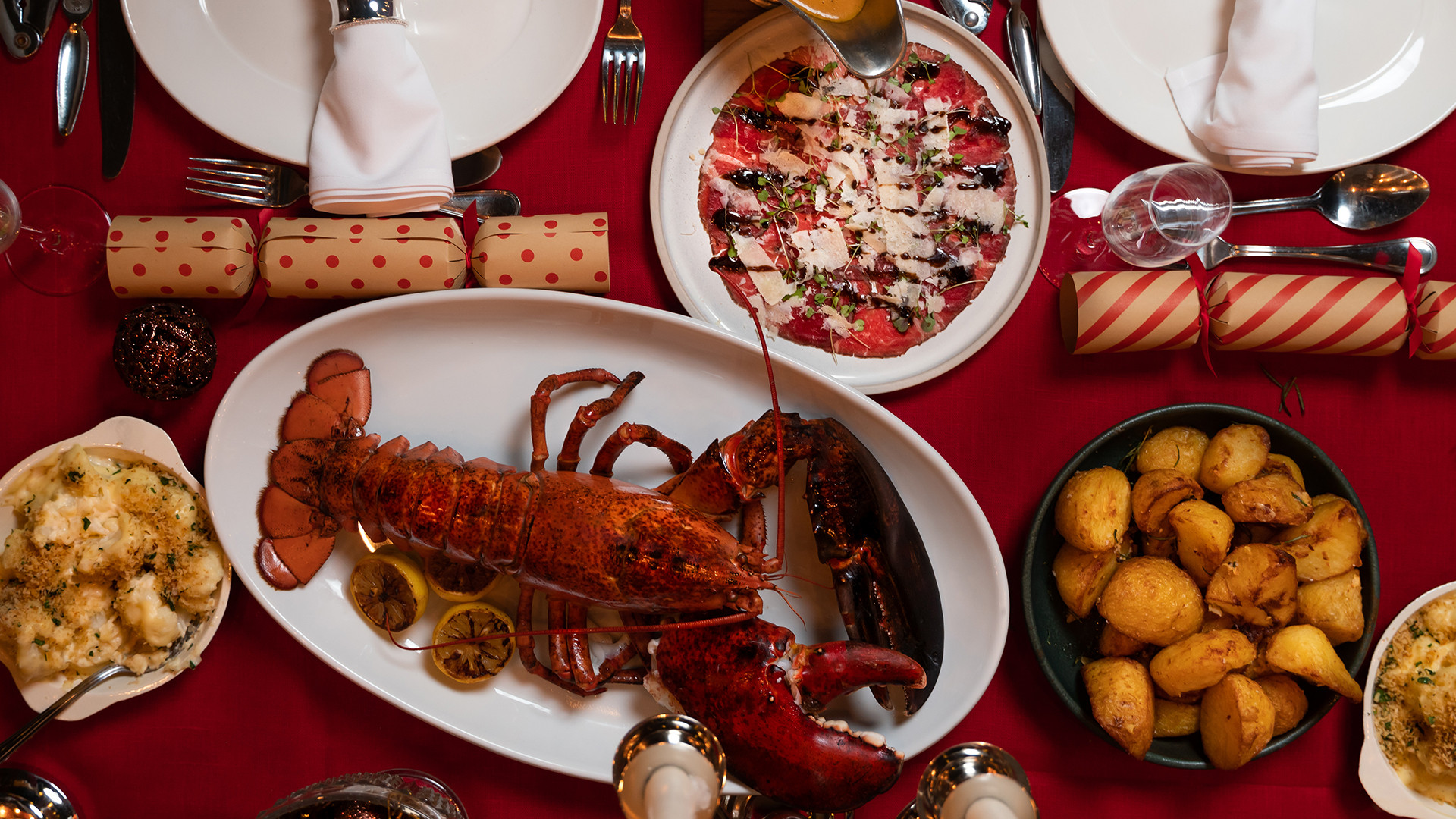 Christmas lobster feast at Burger and Lobster