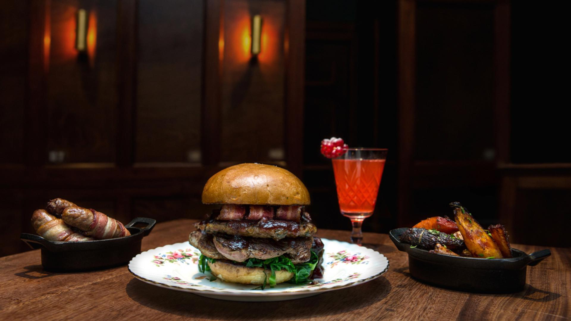 Blacklock's Christmas burger