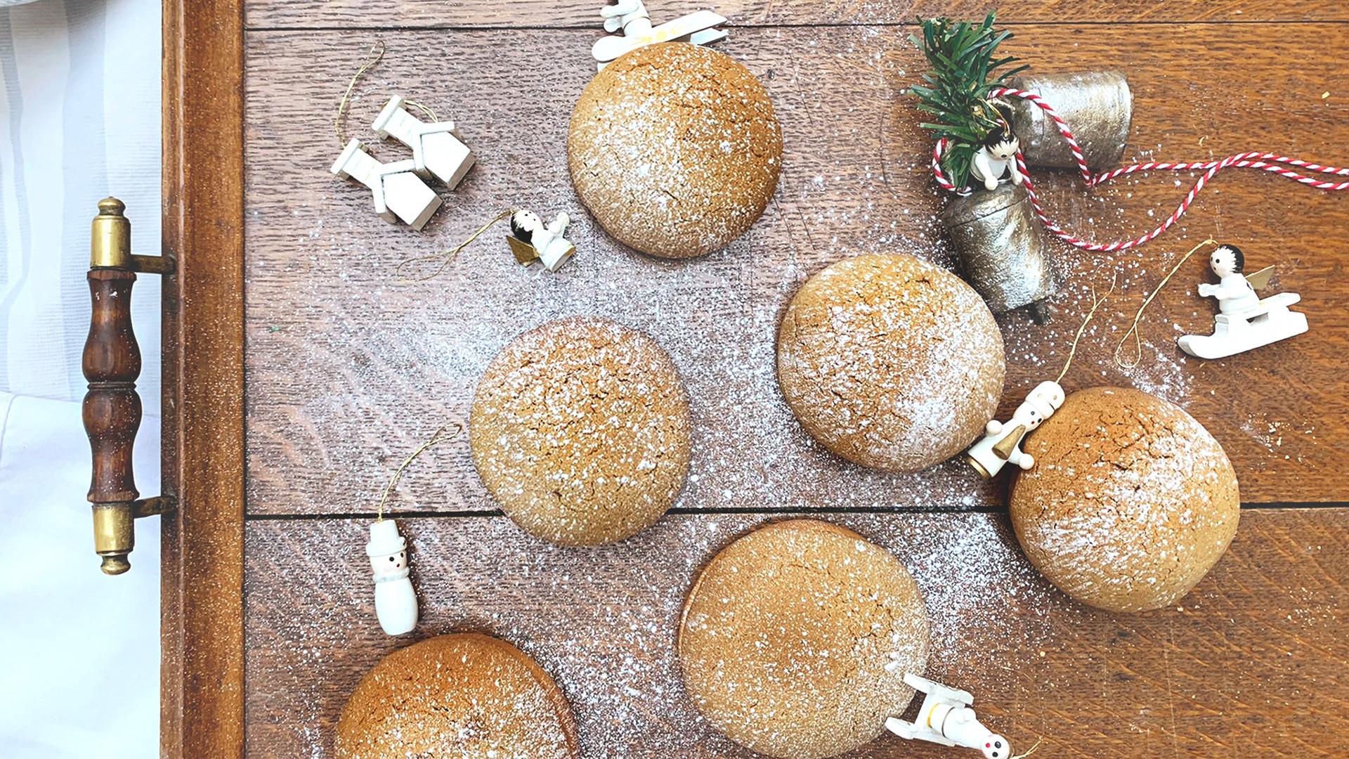 Bun House's Christmas buns