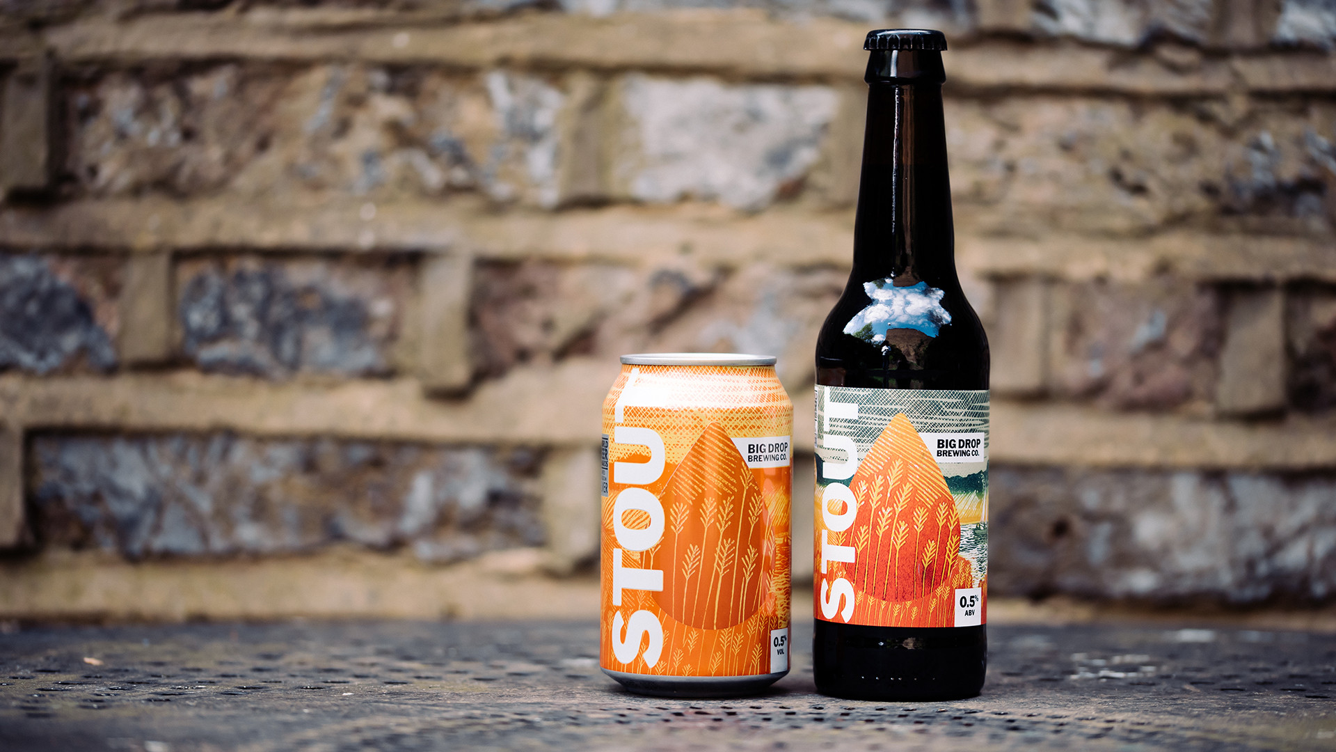 Non Alcoholic Beers London – Big Drop Brewing Co.'s Stout – 0.5%