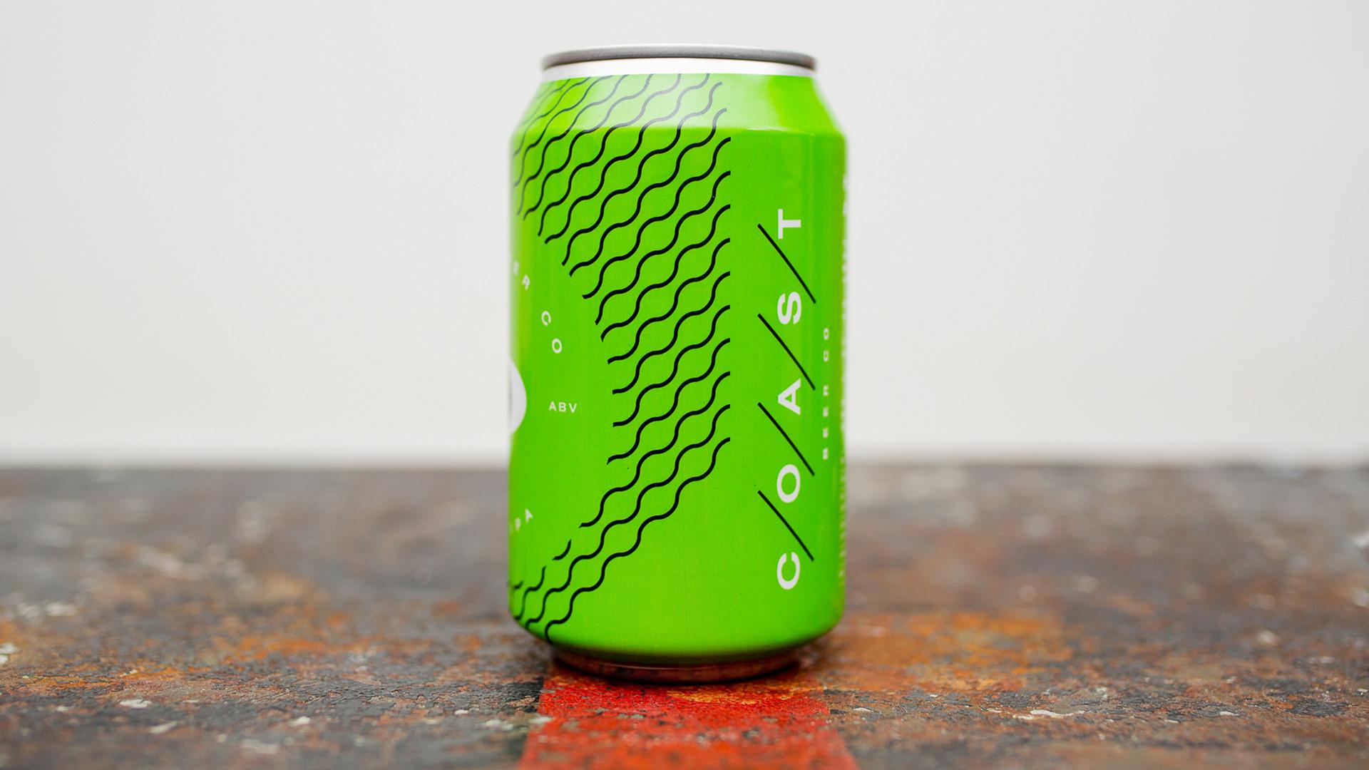 Non Alcoholic Beers London – Coast Beer Co's Hazy IPA – 0.0% ABV