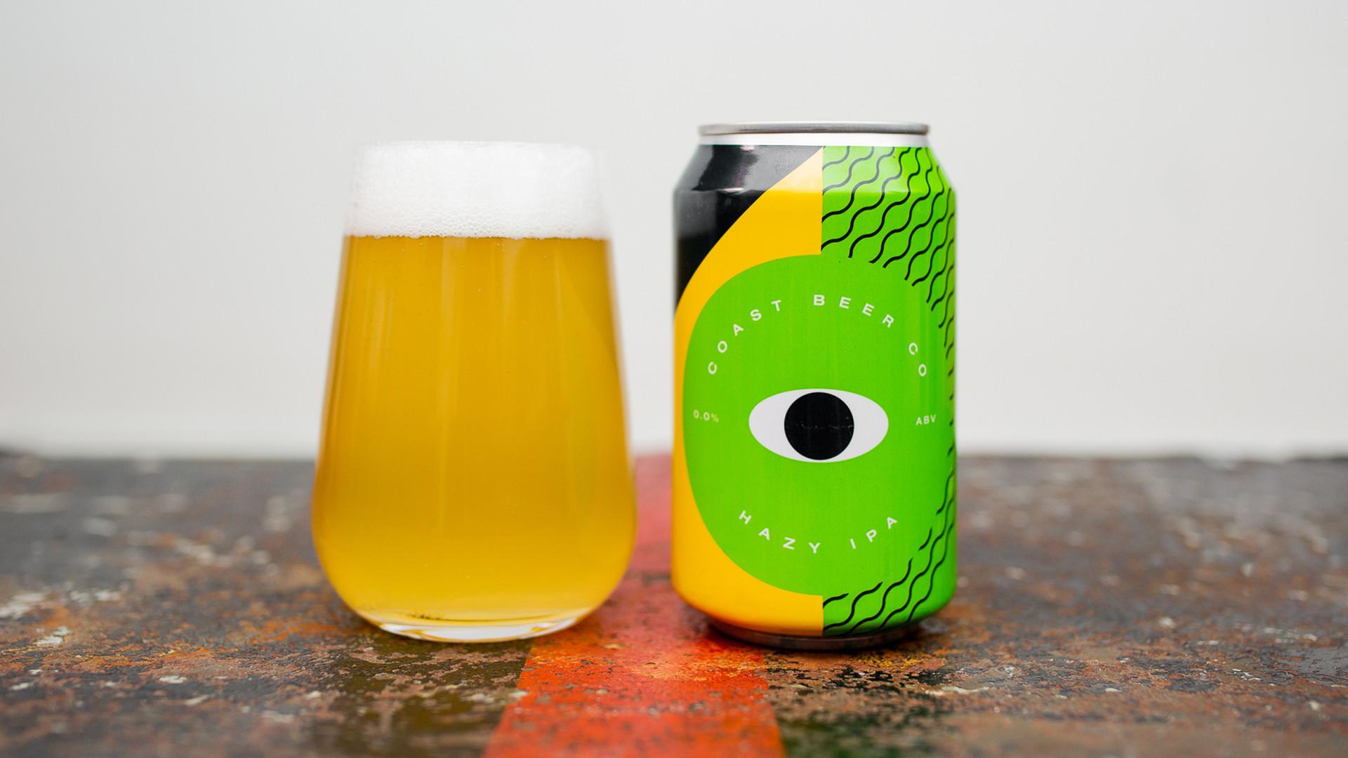 Coast Beer Co's Hazy IPA – 0.0% ABV
