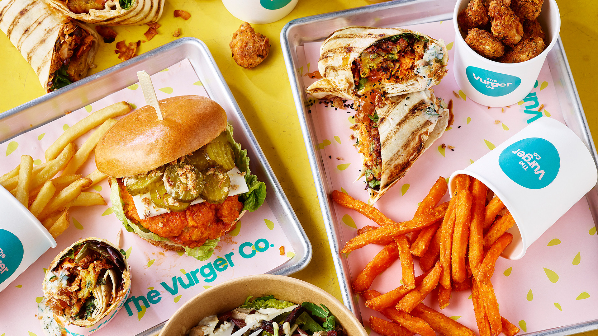 Best plant-based burgers in London – The Vurger Co