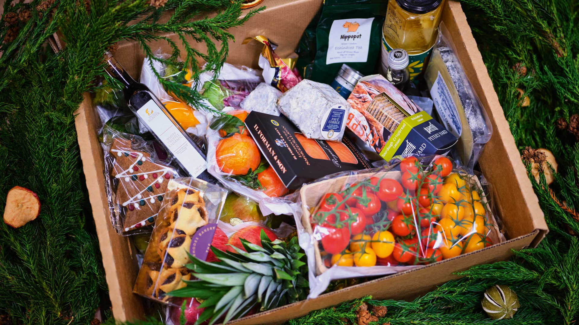 New Covent Garden Market food boxes