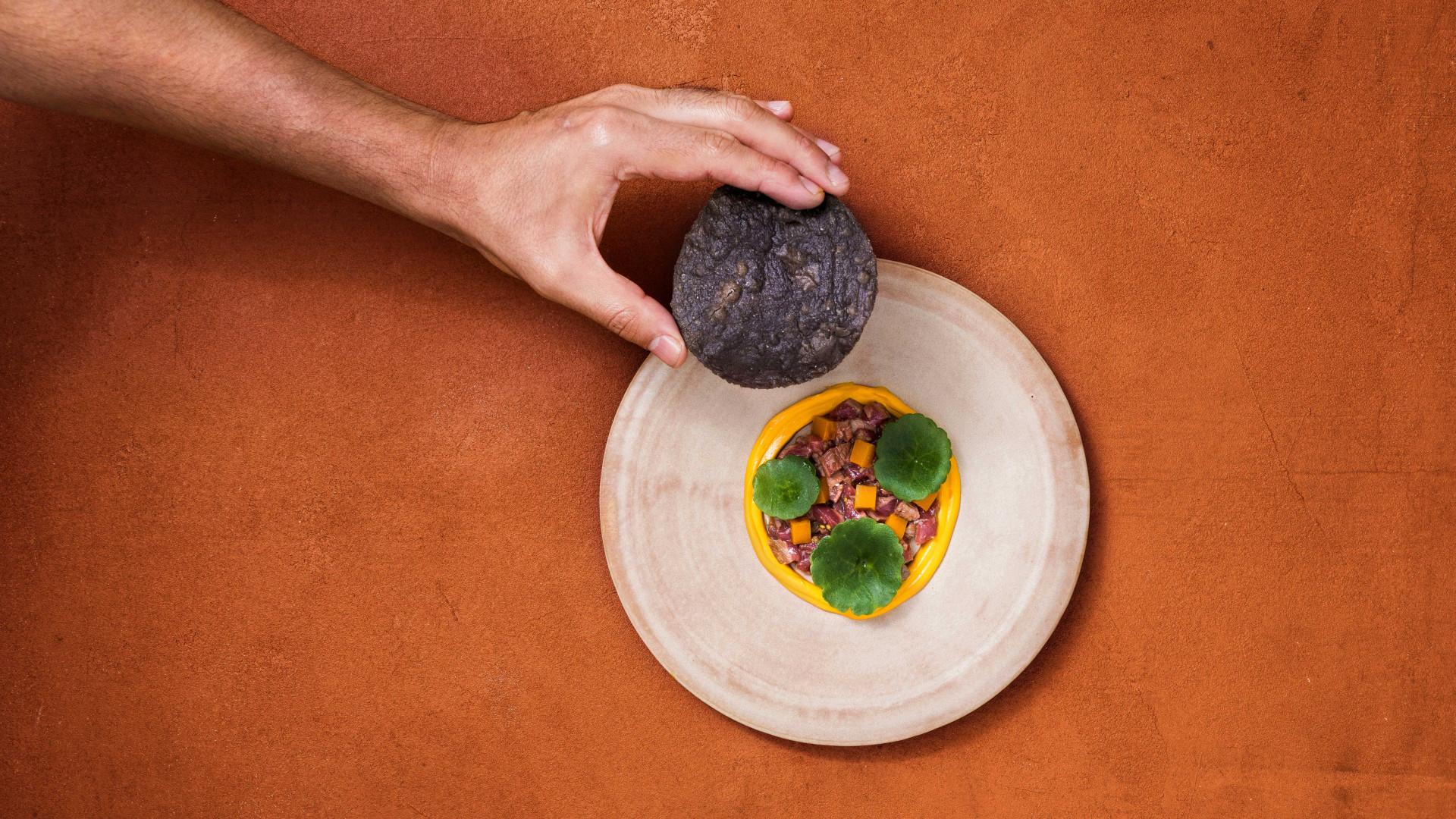 Kol restaurant: Lamb tostada