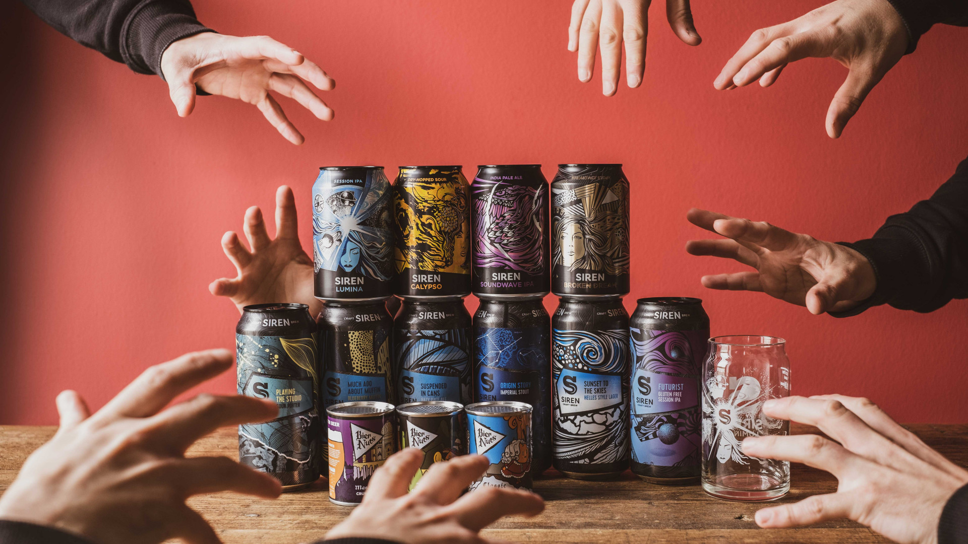 Siren Craft Brewing's flagship cans