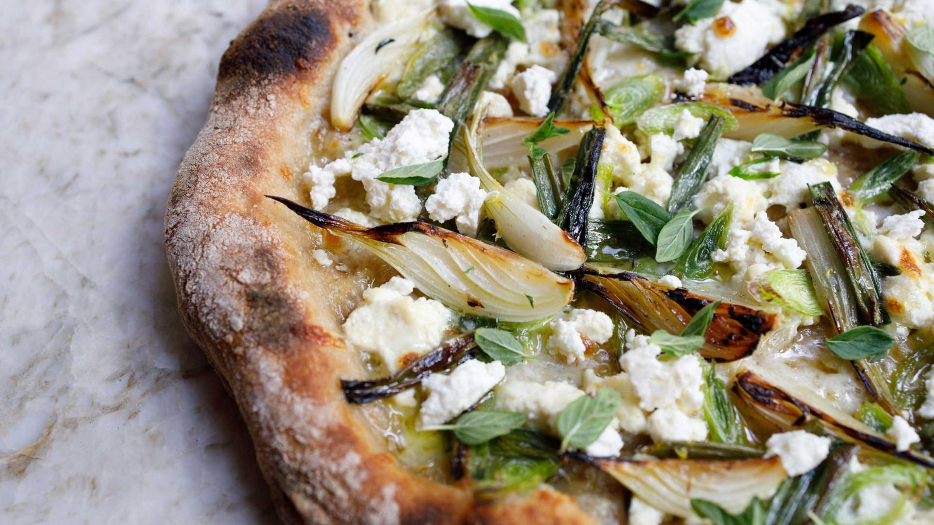 ASAP Pizza's Thanks Shallot pizza