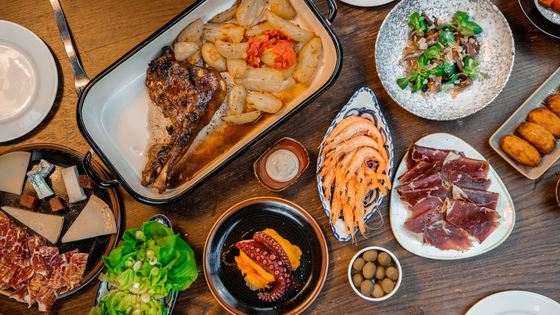 Iberica Feast at Home: meal kit review