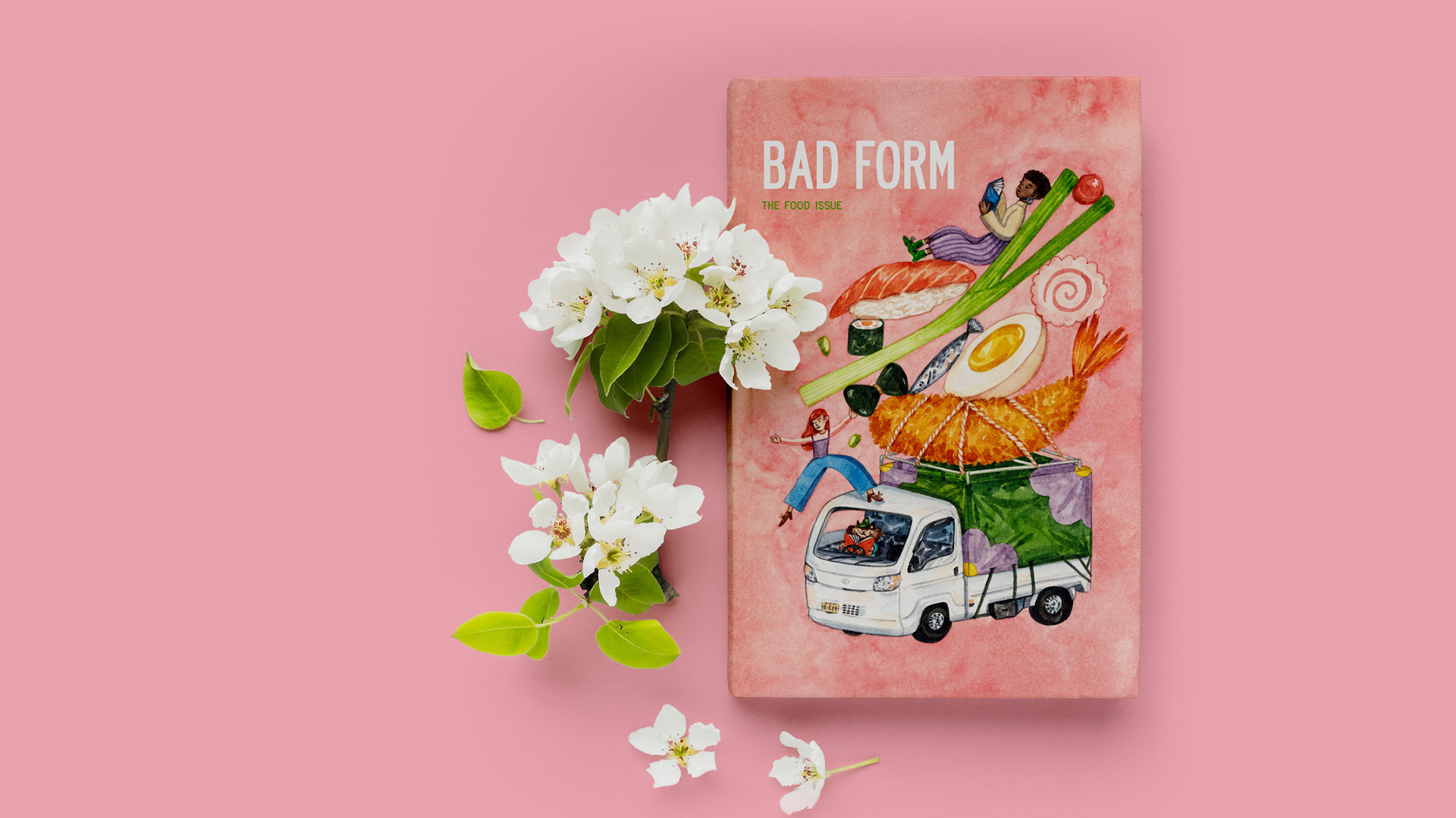 Bad Form's new food issue   The cover