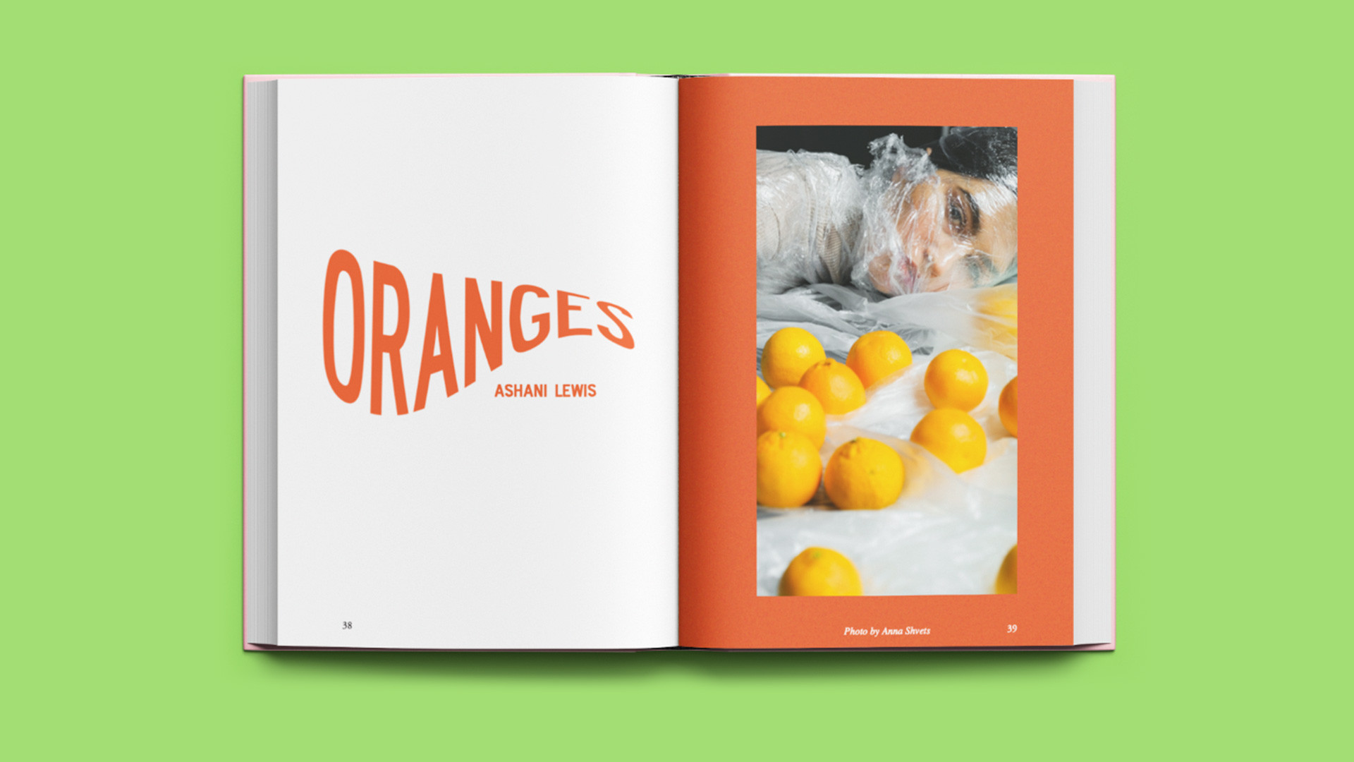 Bad Form's new food issue | Oranges