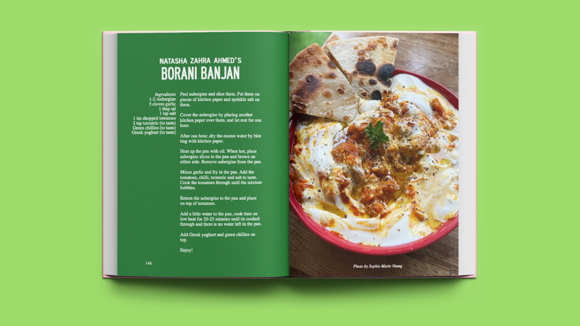 Bad Form's new food issue | A recipe