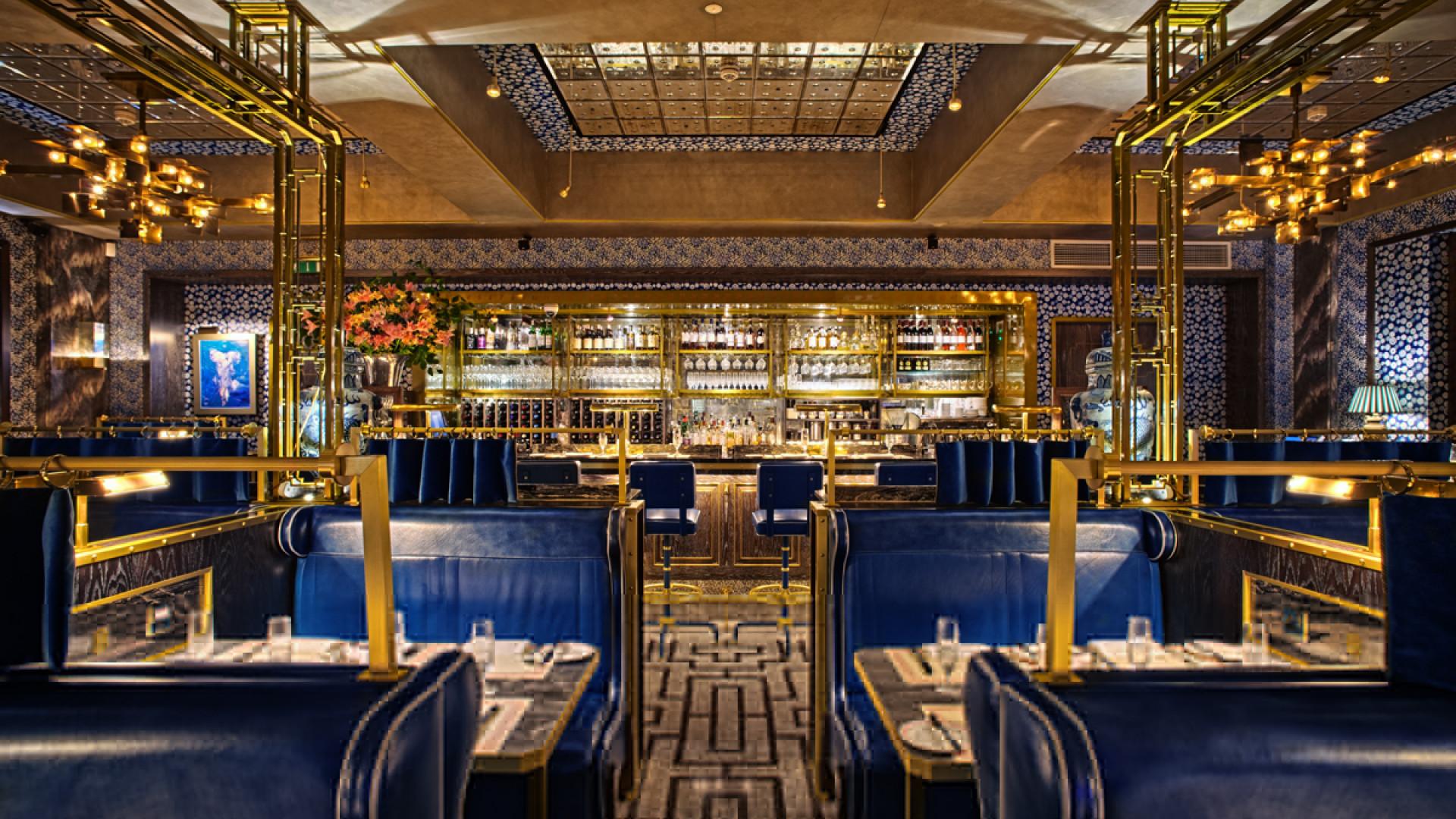 The food and interiors at Bob Bob Ricard in Soho