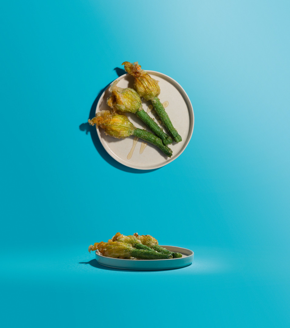 Ben Tish's courgette flowers