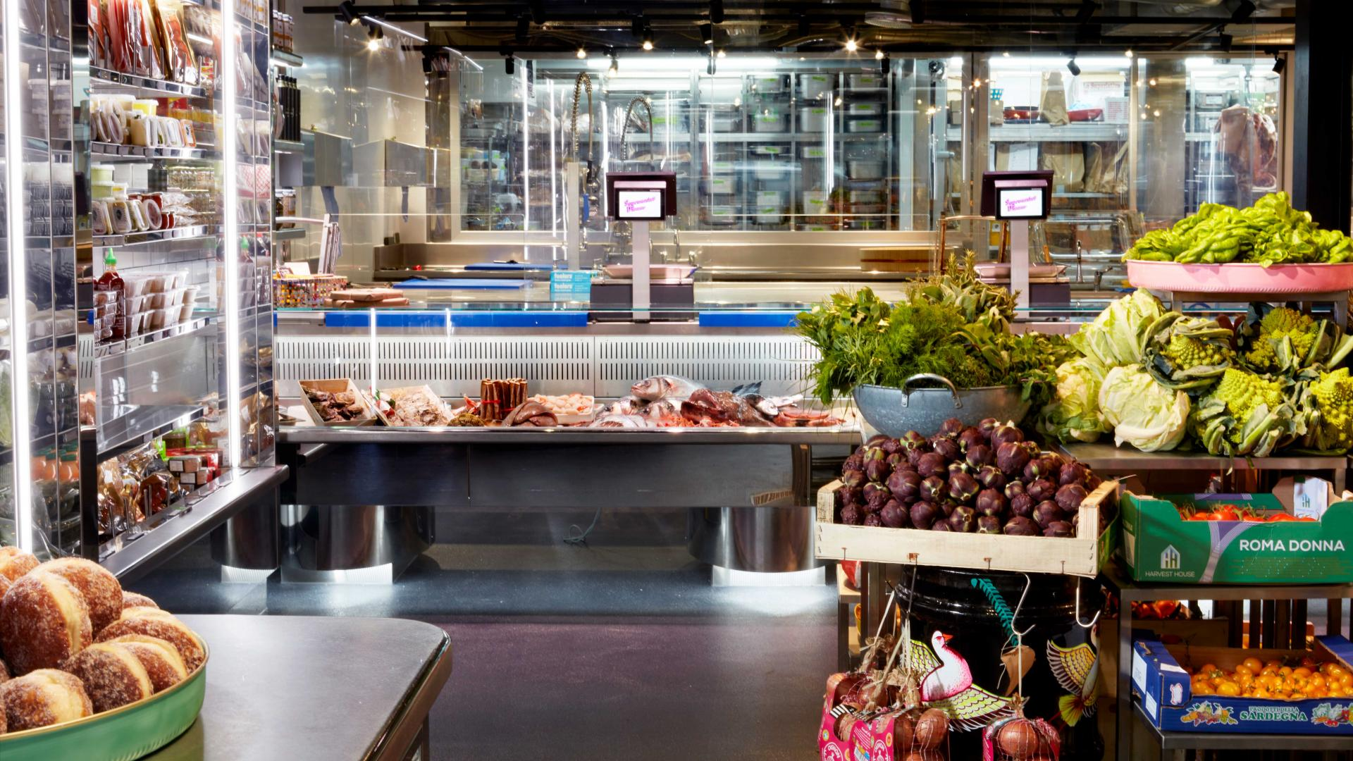 Best butchers London: the butchery counter at Notting Hill Fish + Meat