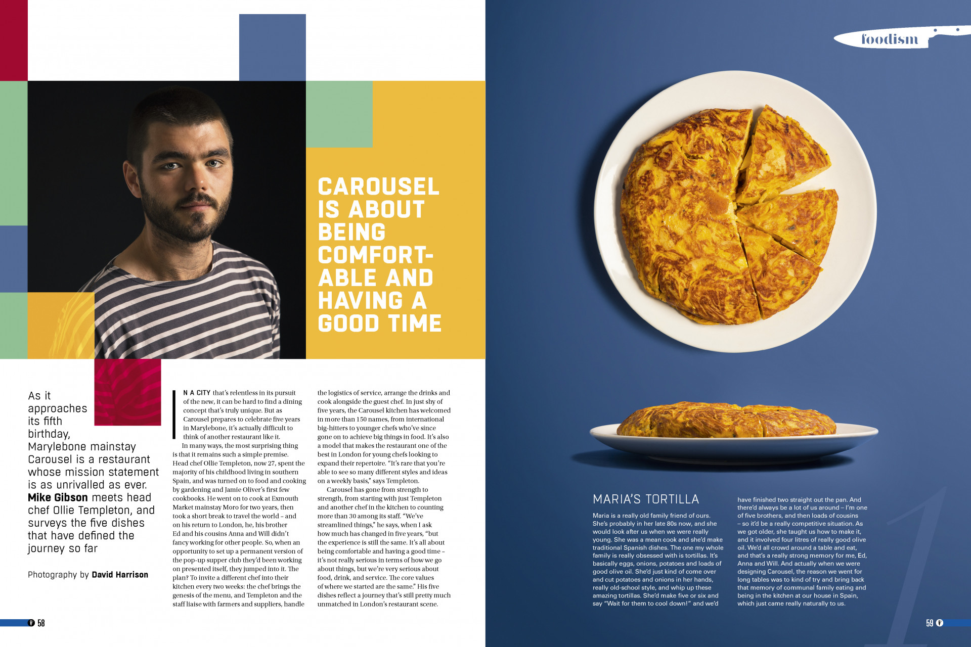 Foodism issue 36: My Career in Five Dishes – Ollie Templeton