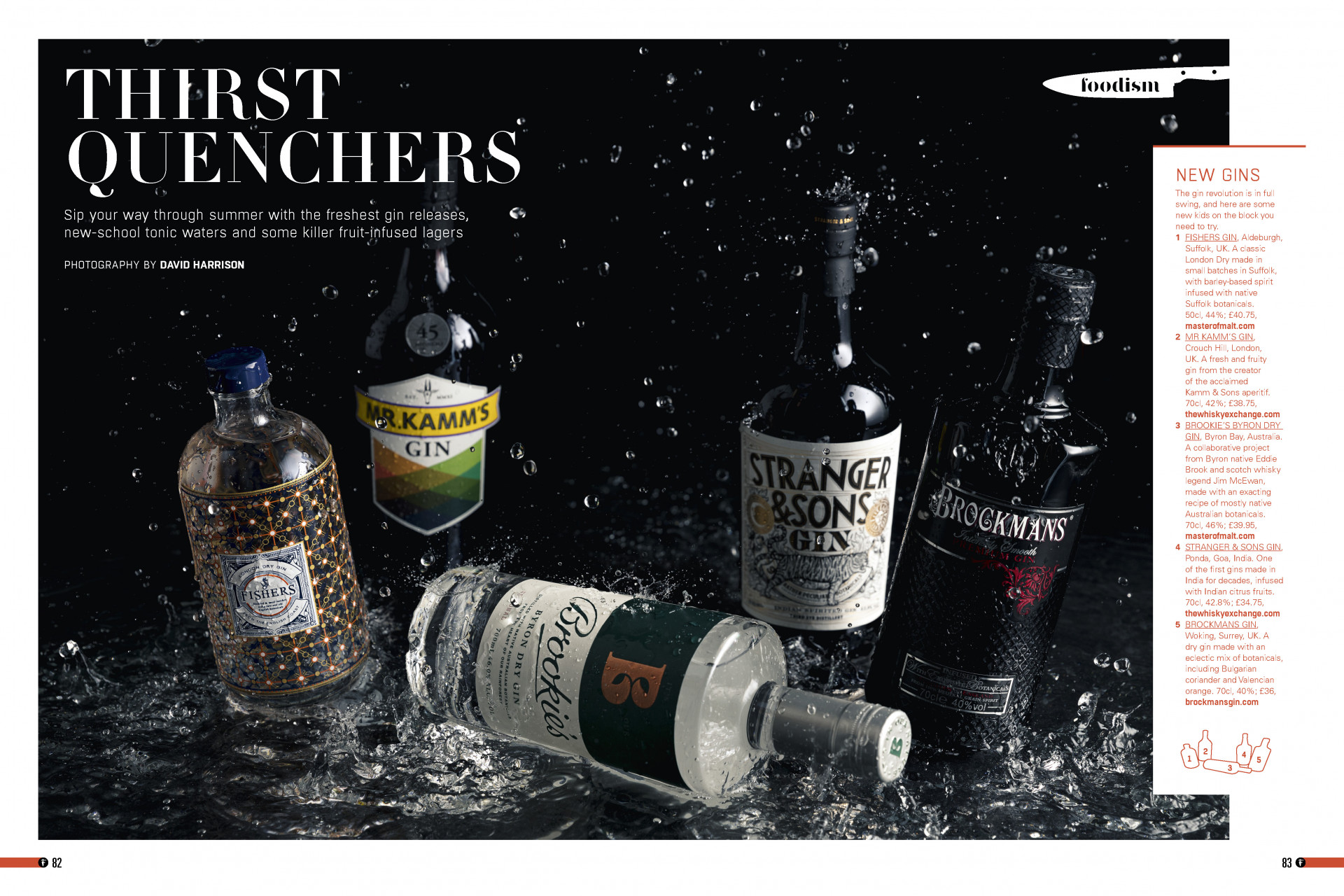 Foodism issue 36: bottles