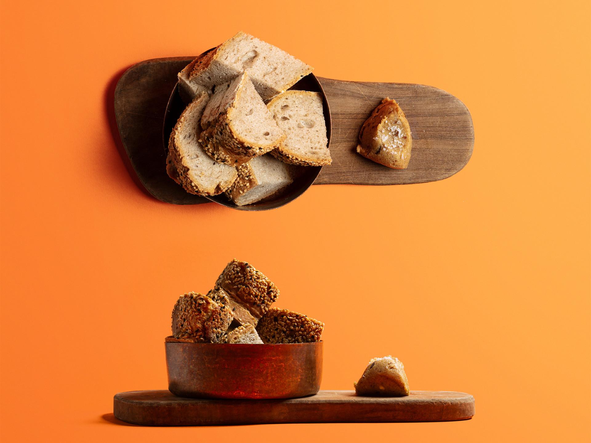 Selin Kiazim's spiced bread and medjool date butter
