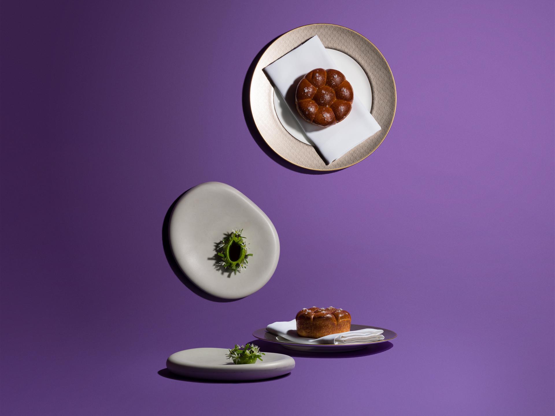 Five Dishes: James Knappett, Kitchen Table's Parker House rolls, wild garlic butter