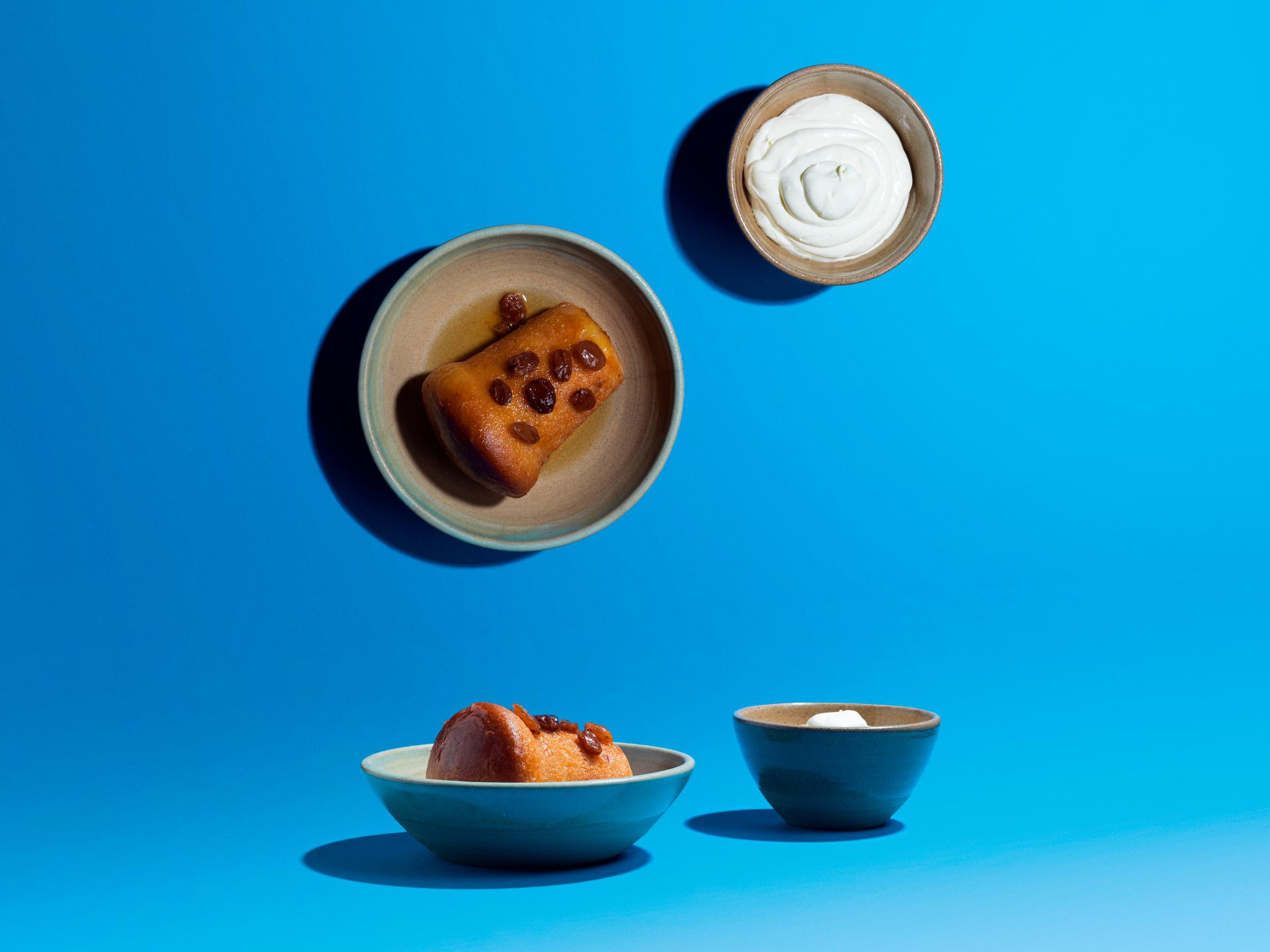 Five Dishes: Rum baba with Chantilly cream