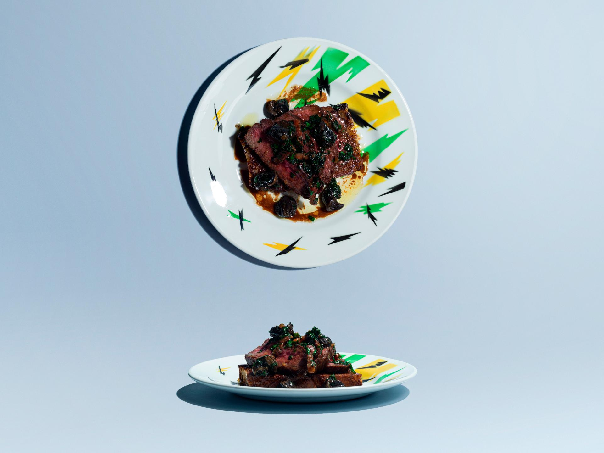 Five Dishes: Big Jo, Beef, snails and garlic butter on toast