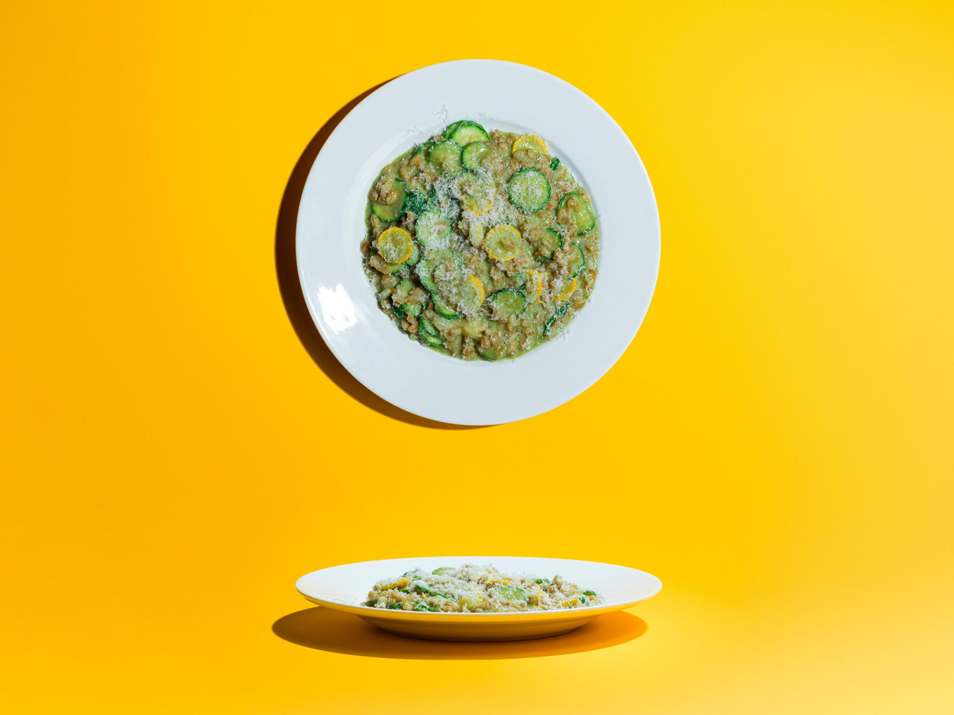 Five Dishes: Big Jo spelt courgette and basil