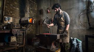 Blenheim Forge workshop