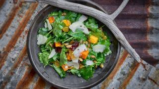 Absurd Bird review: kale salad