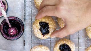 Kylee Newton's rhubarb jam recipe