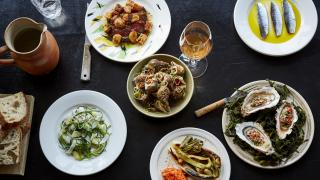 A selection of dishes at Westerns Laundry