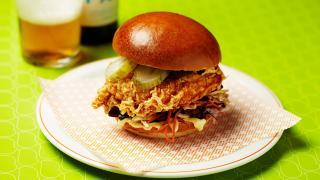 BIRD fried chicken sandwich