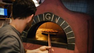 Yard Sale pizza oven