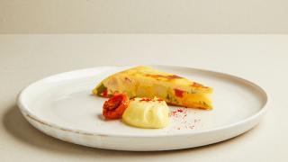 Spanish tortilla with aioli from Tate Modern L9 Restaurant