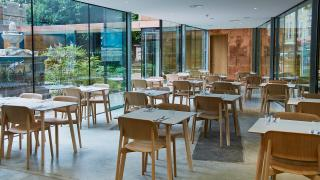 Inside the Garden Café, Lambeth