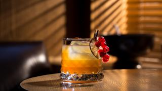 Punch Room's Jacobs Punch cocktail