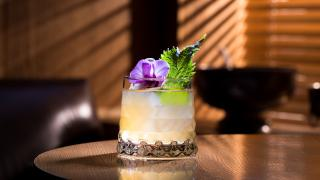 Punch Room's Japanese Punch cocktail