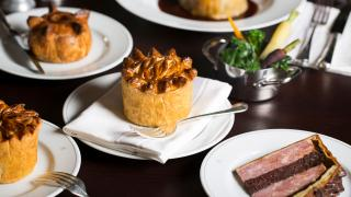 Pie at the Holborn Dining Room