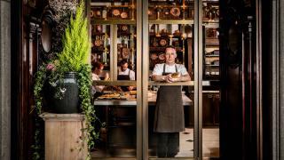 Calum Franklin in the Holborn Dining Room Pie Room