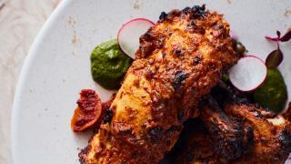 Kutir, Chelsea: chicken with lentils