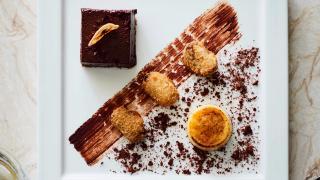 Kutir, Chelsea: varlhona chocolate chilli banana
