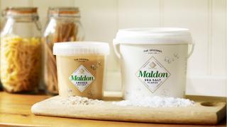 Smoked and classic Maldon salt
