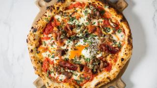 California-style pizza from Hai Cenato, London
