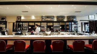 Inside Bentley's Oyster Bar & Grill